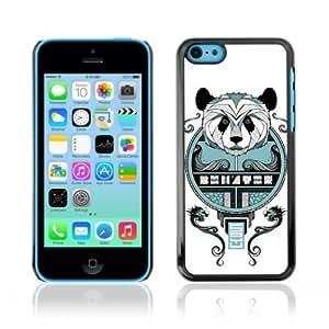 linJUN FENGDesigner Depo Hard Protection Case for Apple iphone 4/4s / Cool Asian Panda Mosaic