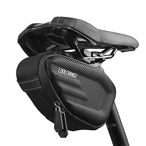 Cool Change Bike Saddle Bag Small Size Hard Shell Quick