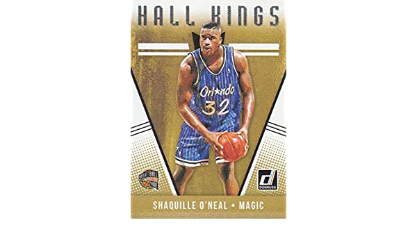 2018-19 Donruss Basketball Hall Kings #30 Shaquille ONeal Orlando Magic at Amazons Sports Collectibles Store
