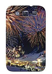 Case Provided For Galaxy S3 Protector Case Fireworks Over Tyrol, Austria Phone Cover With Appearance