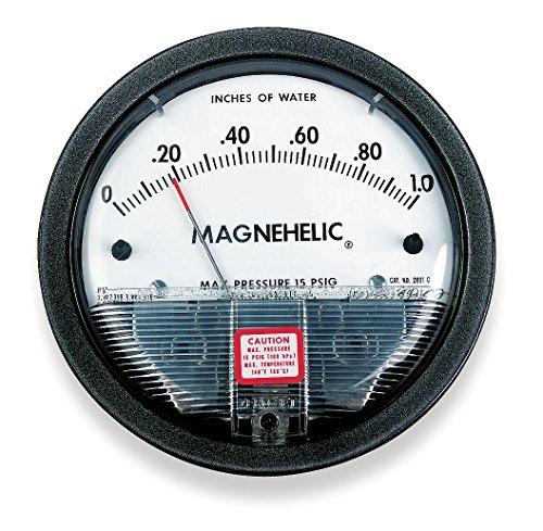 Dwyer Magnehelic Series 2000 Differential Pressure Gauge Range 0-50WC
