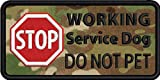 stop service - STOP Working Service Dog DO NOT PET 2