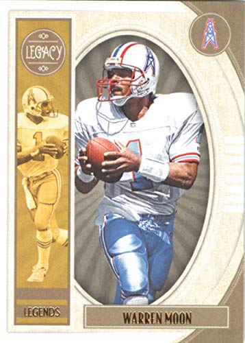 2019 Panini Legacy #113 Warren Moon NM-MT Houston Oilers Officially Licensed NFL Football Trading Card