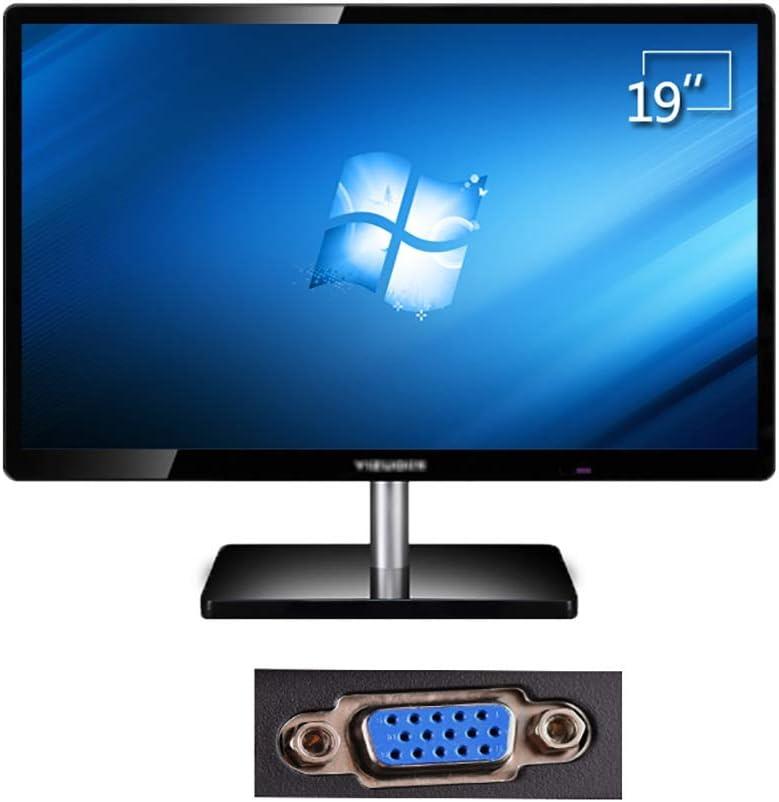 Monitor 19 Pulgadas De Monitor De La Computadora De Escritorio Británica, Monitor LCD LED Oficina En Casa, La Pantalla del Monitor Juego PS4 Montado En La Pared (Color : E): Amazon.es: Hogar