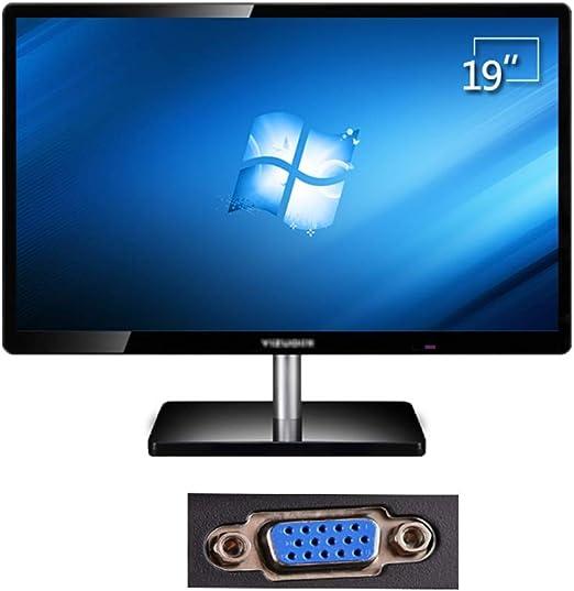 Monitor 19 Pulgadas De Monitor De La Computadora De Escritorio Británica, Monitor LCD LED Oficina En Casa, La Pantalla del Monitor Juego PS4 Montado En La Pared (Color : A): Amazon.es: Hogar