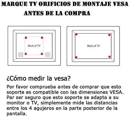 BPS- Soporte Pared para TV 32-60 Pulgadas de Pantalla Plana (LED ...