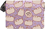 Pusheen The Cat Messenger Cross Body Shoulder Bag (Purple)
