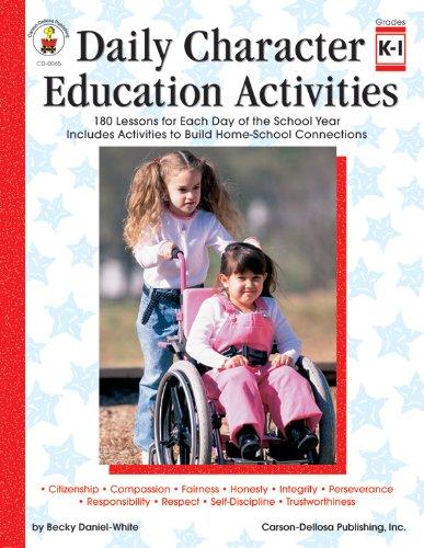 Amazon.com: Daily Character Education Activities, Grades K - 1 ...