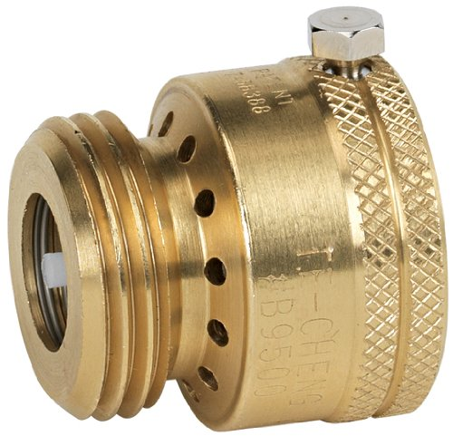 Backflow Preventer (Homewerks VAC-BFP-Z4B Vacuum Breaker, Male Hose Thread, 3/4-Inch)
