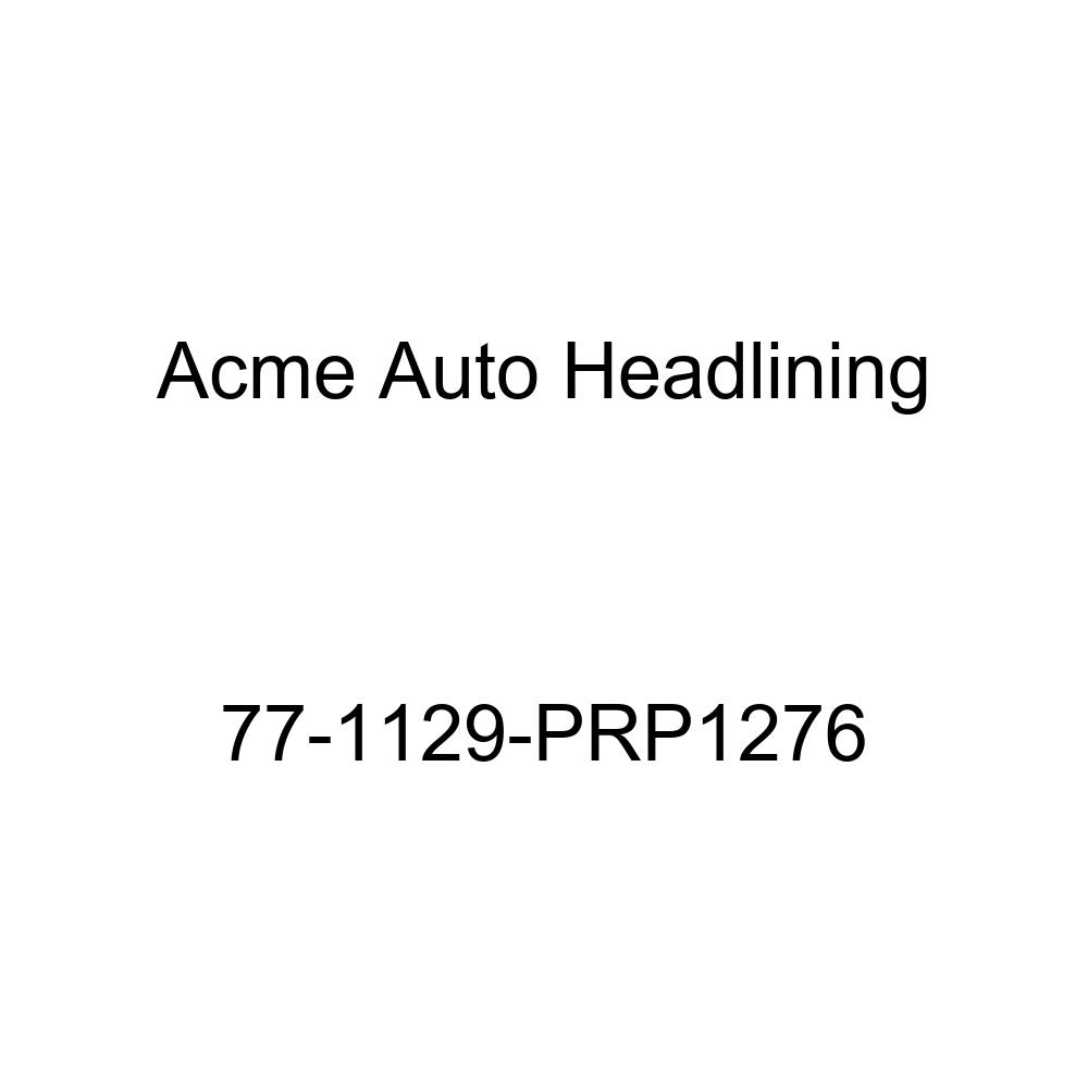 1977 Buick Century 4 Door Wagon T-Hanger Acme Auto Headlining 77-1129-PRP1276 Dark Green Replacement Headliner