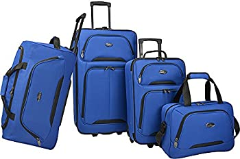 U.S. Traveler Vineyard 4-Piece Softside Luggage Set