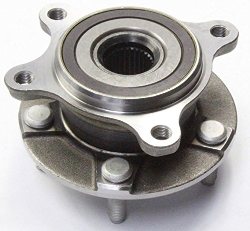 HU590139 x 1 Brand New Wheel Bearing Hub Assembly Front Right Side Only ( AWD Model ) Fit 07 - 17 Lexus GS350, 06 - 15 IS250, 11 - 17 IS350, 15 - 17 RC350 (Front Right)