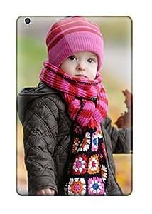 XiFu*MeiCute Appearance Cover/tpu EVjhGaM1725xpAmc Playing With Autumn Leaves Photography Child People Photography Case For Ipad Mini/mini 2XiFu*Mei