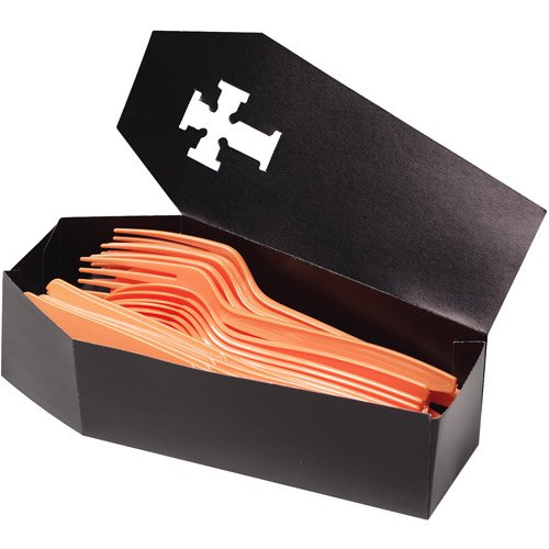 Halloween Coffin Treat Boxes (Halloween Cardboard Box Costumes)