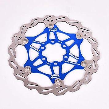 Disco de Freno para Bicicleta de Carreras Disco Flotante Freno de Bicicleta de monta/ña Rotor Ocamo