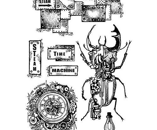 Beetle Beetle - Rubber Stamps On Foam (7ks), Stamperia, Scrapbooking Paper