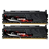 G.SKILL Sniper Series 8GB (2 x 4GB) 240-Pin DDR3 SDRAM 2133 (PC3 17000) Desktop Memory F3-17000CL9D-8GBSR