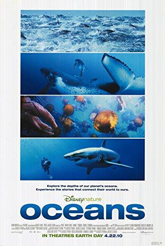 DISNEY NATURE OCEANS 13x19 INCH PROMO MOVIE POSTER