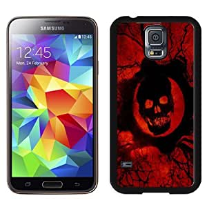Beautiful Custom Designed Cover Case For Samsung Galaxy S5 I9600 G900a G900v G900p G900t G900w With Gears of War 3 Phone Case WANGJING JINDA