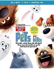 The Secret Life of Pets [Blu-ray + DVD + Digital HD]