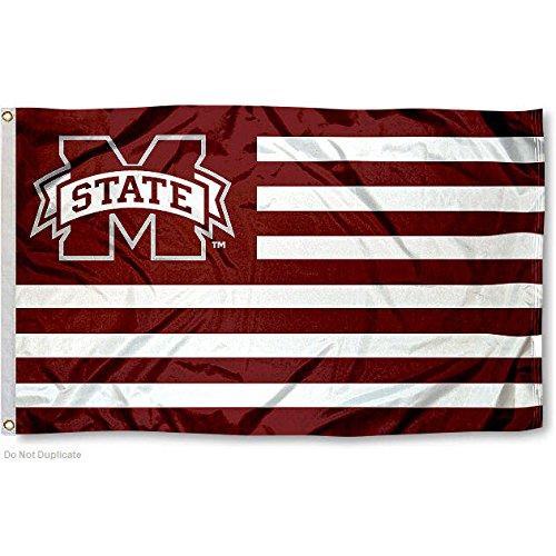 University Alumni State Mississippi - Mississippi State University MSU Alumni Nation Stripes Flag