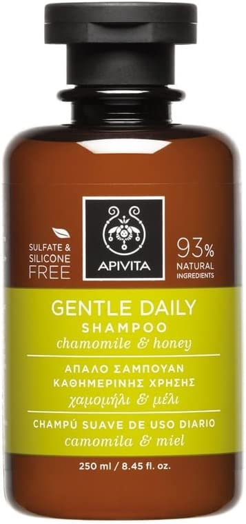 Apivita - Champú suave uso diario camomila & miel: Amazon.es: Belleza
