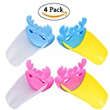 Image of PROMENE 4 Pack Faucet Extender - Sink Handle Extender, Safe Faucet Extension Attachment And Excellent Washing Solution for Toddlers, Kids, Babies