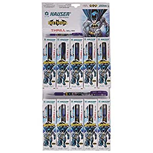 Hauser Germany BatmanThrill Ball Blue, Pack of 10
