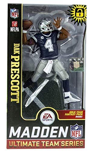 McFarlane Toys NFL Madden 19 Series 1 Dak Prescott Action Figure (Mcfarlane Dallas Cowboys Sports Action Figure)