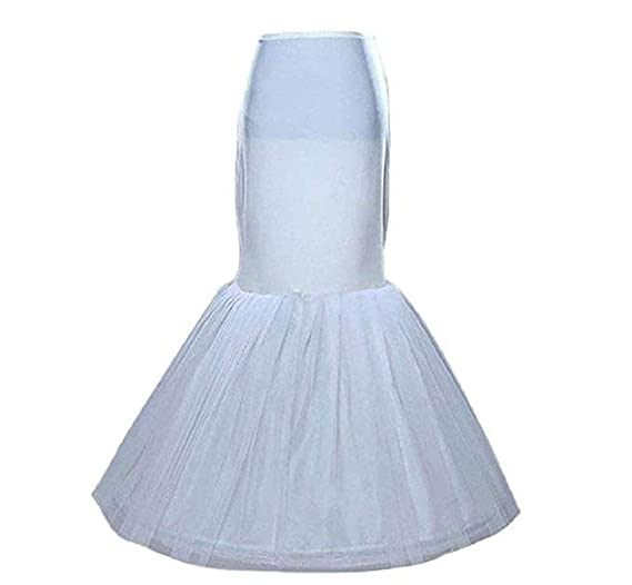 b5239ec0d0363 Image Unavailable. Image not available for. Color: NEJLSD Bridal Mermaid  Adjustable Crinoline Petticoat/slips/underskirt