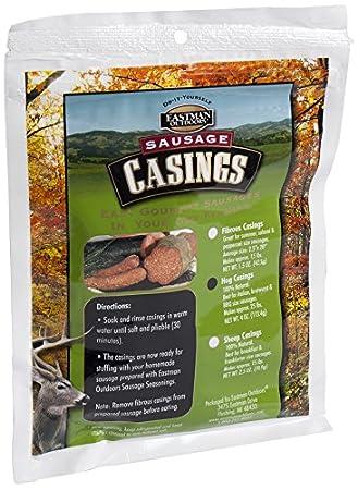 Eastman Outdoors 100% natural Hog carcasa para italiano, salchichas. & barbacoa tamaño salchichas