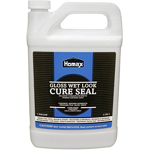 Homax Wet Look Cure Seal Gallon- 3 pack (And Flagstone Patios Brick)