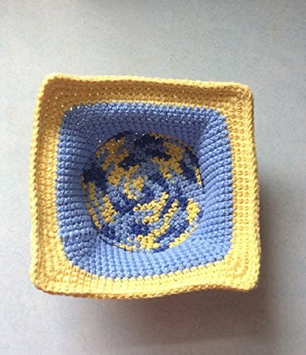 Amazon Microwave Bowl Cozy Bowl Cozy Blue And Yellow Bowl