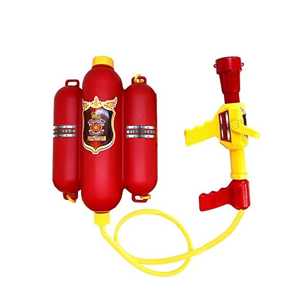 QIANGUANG® Vigile del Fuoco Zaino Pistole d'Acqua Blaster Giochi sparatutto in Acqua e Giocattoli da Spiaggia (Vigile… 1 spesavip