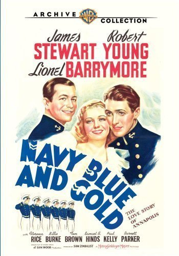Navy Blue and Gold by Warner - Movie Gold And Navy Blue