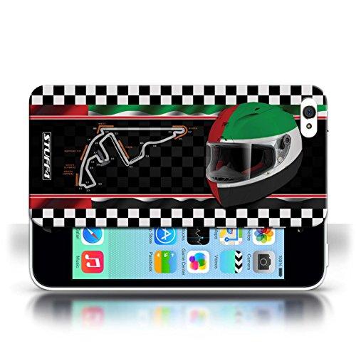 Etui / Coque pour Apple iPhone 5C / AbuDhabi conception / Collection de F1 Piste Drapeau