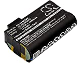 Cameron Sino Replacement Rechargeable Battery fit for AdirPro PS236B,Getac PS236,Getac PS336,Nautiz X7 (5200mAh)