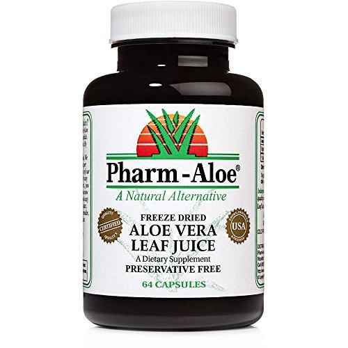 Aloe Vera Capsules - 450mgs powder per capsule