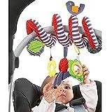 Baby Crib Cot Pram Hanging Rattles Spiral Stroller & Car Seat Toy