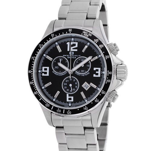 Oceanaut Men's OC3320 Baltica Analog Display Quartz Silver Watch