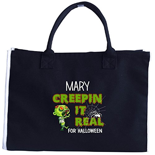 Mother Mary Halloween Costume (Mary Creepin It Real Funny Halloween Costume Gift - Tote Bag)