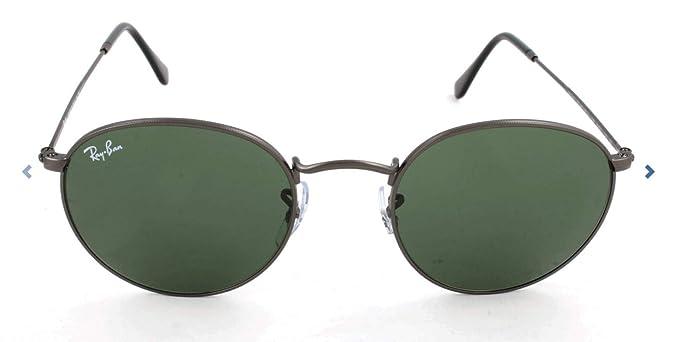 RAY-BAN RB 3447 Gafas de sol, Matte Gunmetal, 53 para Hombre