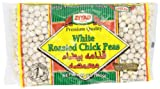 Ziyad Beans Chick Peas White Roasted Dry (Igthama), 12-Ounce (Pack of 6)