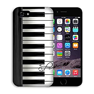 Iphone 5c Case, Casestars Piano keyboard Music anchor Protective 3D White Case Cover for Apple iPhone 5c