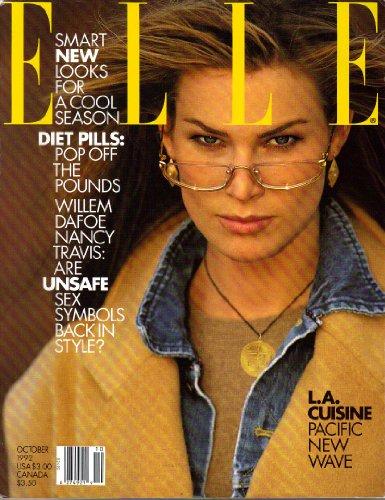 (ELLE Magazine, Volume VII, Number 3, No 87 (October, 1992))