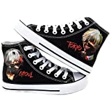 Tokyo Ghoul Anime Kaneki Ken Cosplay Shoes Canvas Shoes Sneakers Black/White