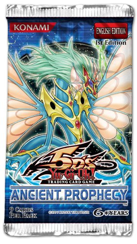 Yu-Gi-Oh! Trading Card Game Ancient Prophecy Booster Pack by Konami ()