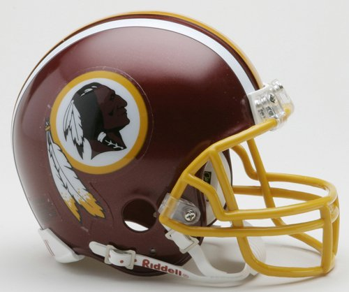 (NFL Washington Redskins Replica Mini Football Helmet)