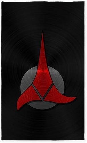 CafePress StarTrek Klingon Metal 2 Decorative Area Rug