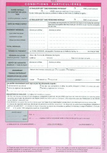 Weber Lot De  Contrat De Bail DHabitation Bail DHabitation